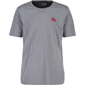 Maloja SassaglM. Camiseta Multisport Manga Corta Hombre, grey melange